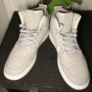 Jordan Heritage GG Wolf Grey/Hyper Pink